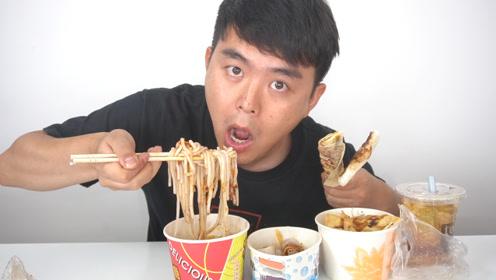 """试吃大理特产""""土鸡米线"""",配上云南特色小吃,吃一次就上瘾"""