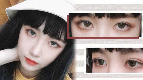 娃娃眼眼妆教程