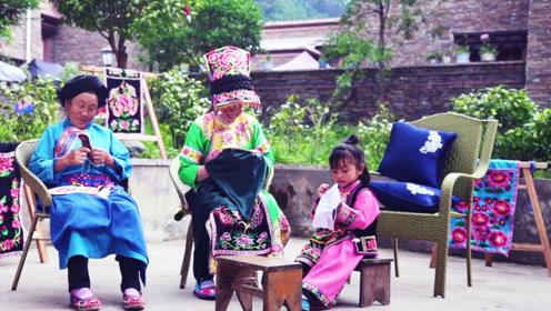 重回大山,羌族绣娘守护的温暖与传承