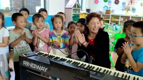她扎根乡村做幼儿教师38年,教过一家两代人