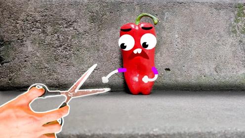 文具和辣椒都会说话了,这个世界真奇妙,奇趣爆笑动画