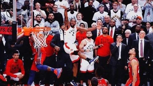 盘点NBA赛场上的幸运球!各种花式进球,不要太销魂!