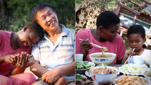 90后非洲美女嫁河南农民,4岁混血儿子拒学英语只说河南话