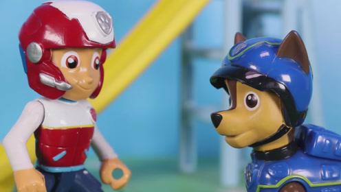开学啦 汪汪队决定把玩具城整修一段时间 先不开放啦 玩具故事