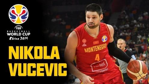 篮球世界杯黑山五大镜头 武切维奇制霸篮下2+1伊万诺维奇光速反击