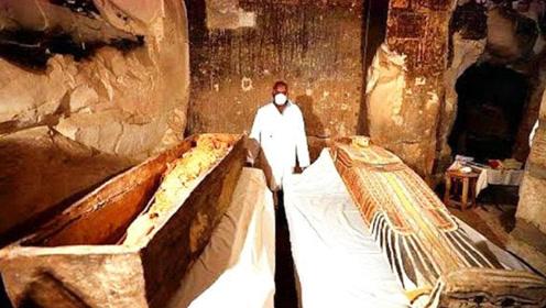 山西古寺出土一口金棺,里面放了什么东西,为何至今无法打开?