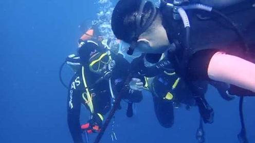 细思极恐!男子潜水时关闭同伴氧气瓶,事后竟称是开玩笑