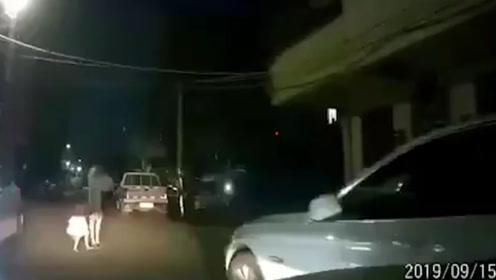 殴打前妻被传唤,男子将4岁女儿粗暴丢进警车车斗