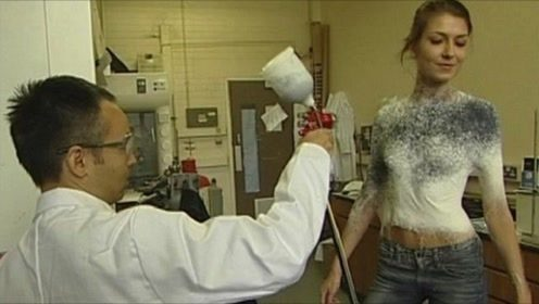 老外发明神奇喷雾,随手一喷秒变衣服,网友:这谁受得了?