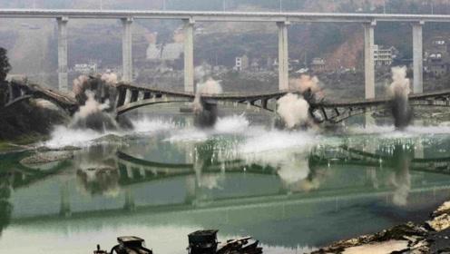 中国5亿打造大桥,仅通车90天被设计师炸毁,国民:干得漂亮!