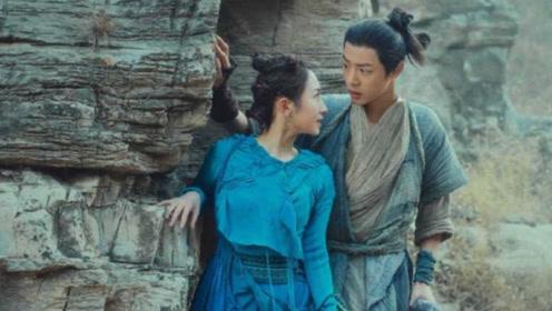 诛仙:肖战和孟美岐的吻戏被疯狂吐槽,网友:碧瑶这么开放的吗?