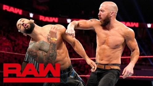 RAW1373期: 麦克肯纳里斯被绿 气愤约战情敌擂台惨败
