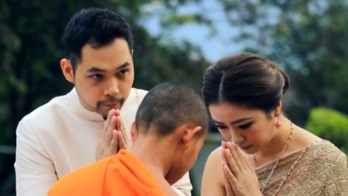 泰国公主成婚礼霸王,新娘须下跪欢迎,抢花球没人敢和她争