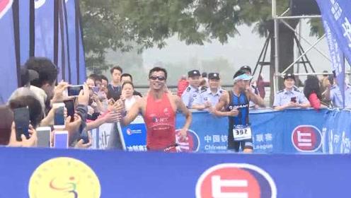 上千中外选手重庆逐铁人,中国队包揽全程分龄组冠军