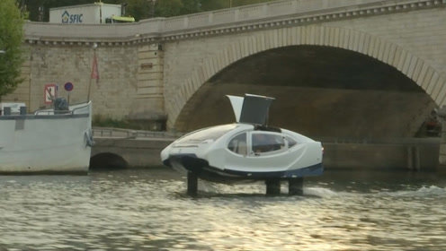 巴黎测试水上出租车,有望成为环保出行新方式