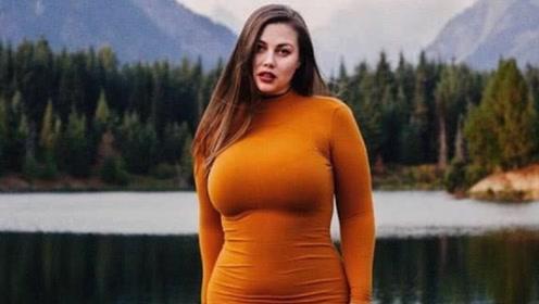 国外美女体重近250斤,身上却无一丝赘肉,网友:肉长对了位置