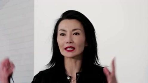 张曼玉55岁生日罕见美照曝光 媚眼如丝人比花娇