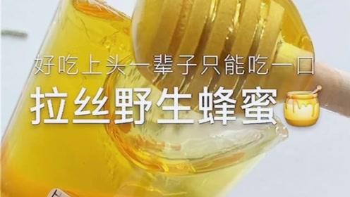 治愈系来袭:拉丝野生蜂蜜