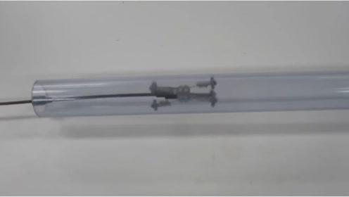 微型螺旋推进管机器人,这个聪明的机械发明,涨姿势了!