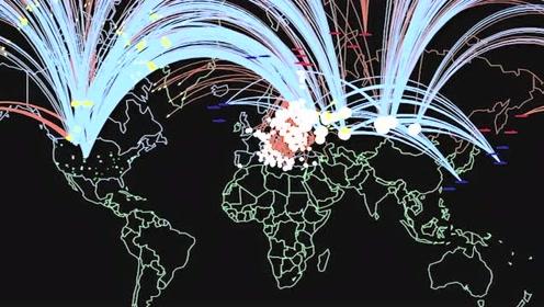 4分钟看普林斯顿模拟:如果美俄爆发核武战争会造成数十亿人死亡
