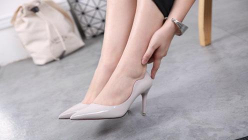 美丽高跟小脚,绝美高跟鞋搭配,但这些不太适合穿,难看还没气质