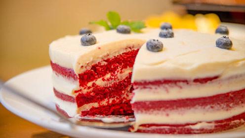 蛋糕谁还花钱买,自己在家就能做,学会这招,做出蛋糕安全还卫生
