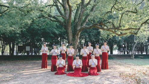 这些傣族舞的基本功,随便跳都能成仙女