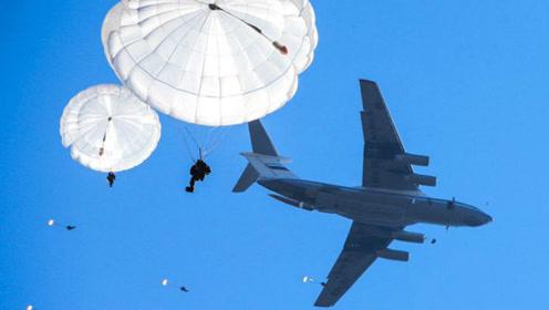 71架伊尔-76空降2000伞兵!俄军演场面堪比战争电影