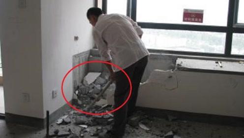 为什么有钱人买房后把飘窗拆了?听老师傅分析,后悔没早知道!