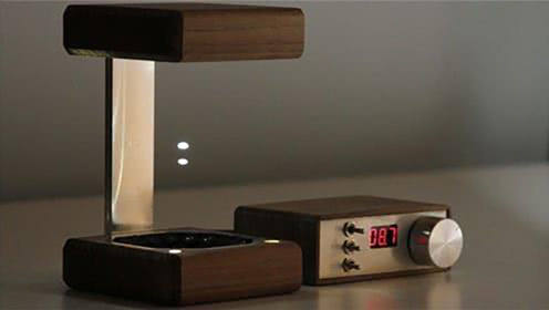 悬浮水滴做光源,这款炫酷的台灯,半个月八十多万人带回家