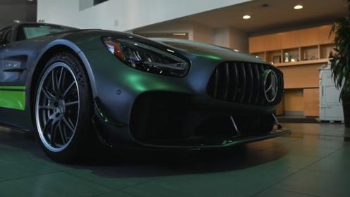 2020款奔驰AMG GTR到店实拍,颜值怎么样?