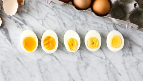 """用不同时间煮""""鸡蛋"""",会有什么区别?"""