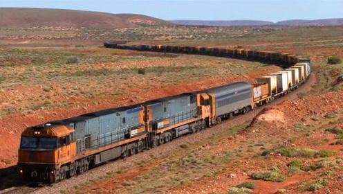 世界最长的火车,把车厢增加到682节,获得吉尼斯纪录认证