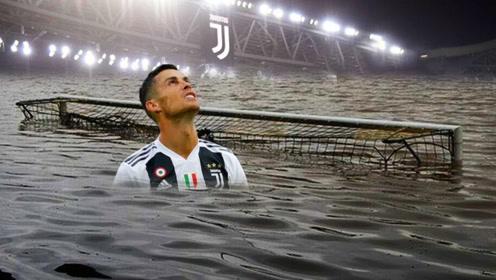 球员也不容易,袭击球场的超强风暴,这是心疼这些球员