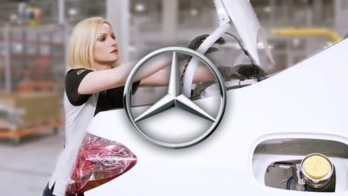 奔驰的质量检测有多严格?看美女质检员的表情就知道了!