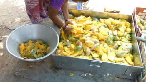 中国畅销15年的零食竟是印度造的,看完加工过程,网友纷纷作呕