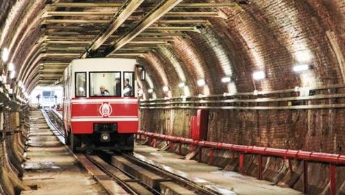 最短行程的地铁站,1.5分钟就能走完,专为富豪们而修建!