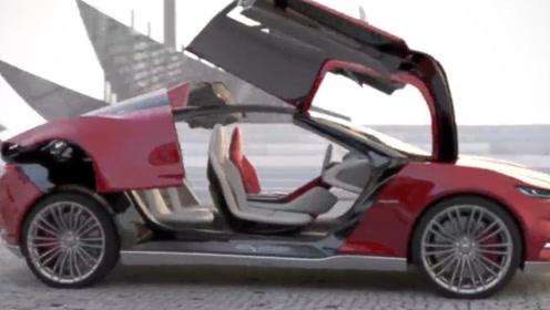 7种新奇的开车门方式,第六个最引人注目,最后一个最实用