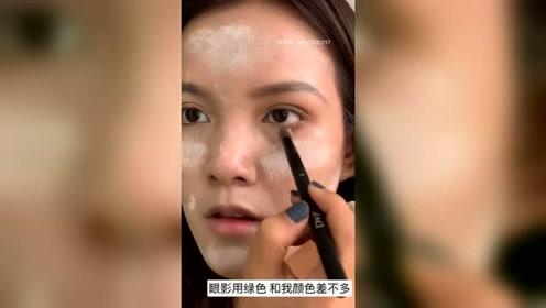原相机超清妆容教程,简单易学+一看就会,效果太美!