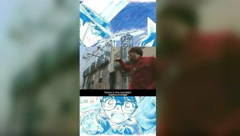 名侦探柯南,紺青之拳主題曲登坂広臣BLUE SAPPHIRE