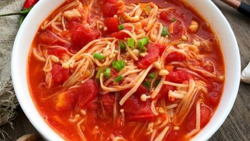 西红柿和它一起煮,隔三差五吃,美白淡斑排宿便,腰肢变细了