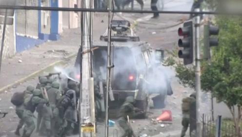 首都安全局势紧张,厄瓜多尔总统宣布临时迁出政府机关