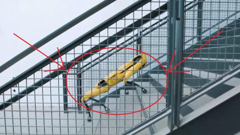 波士顿最新研发4足机器人,模样酷似猎犬,行动比真人还要敏捷!