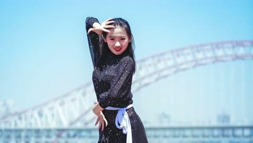 柔情少女带来精美拉丁舞《我的名字》,没遇见,才是最感人的!