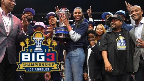 Big3冠军队赛季回顾单打乔绝命四分杰弗森战斧劈扣