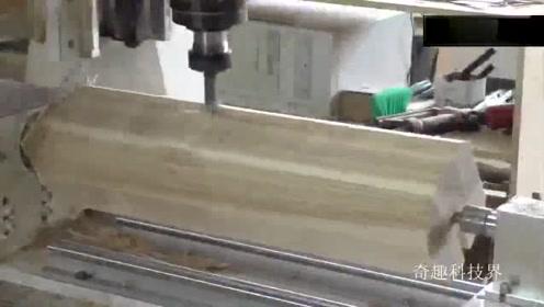 车工看来也要失业了,3D打印机来加工木件,就问你服不服