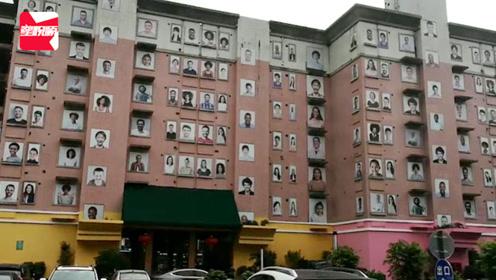 深圳烂尾楼外墙百幅笑脸图,居民吐槽画风诡异后被拆:太可惜了