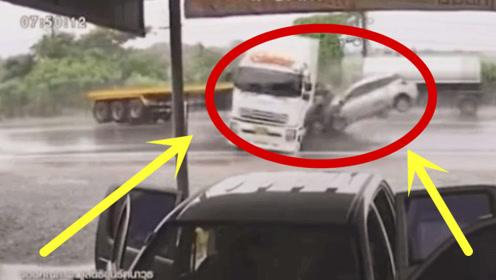 有些车走着走着,头就歪了,可怜了正常行驶的轿车!