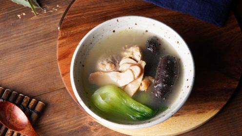 霜降松茸海参这么吃,养胃补气,整个冬天有精神