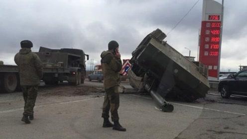 开车不规范亲人两行泪!俄士兵违规开车摔坏火炮,被判赔偿270万